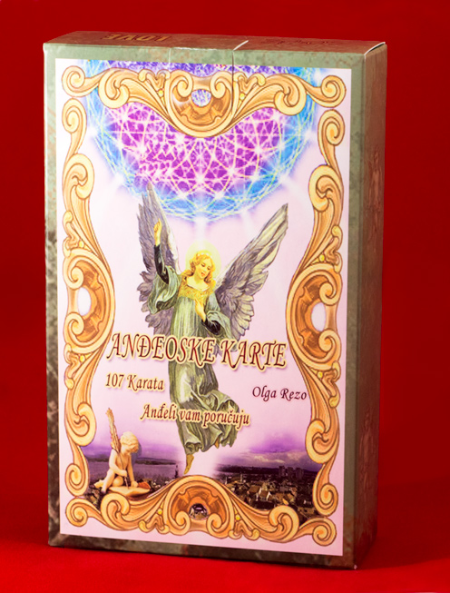 107 anđeoskih karata ceo špil u kutiji