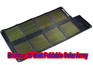 brunton 26 foldable solar panel