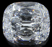 large cushion cut diamond
