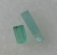 transparent emeralds
