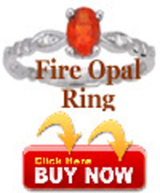 buy fire opal ring