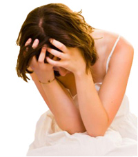 slika frustrirane osobe