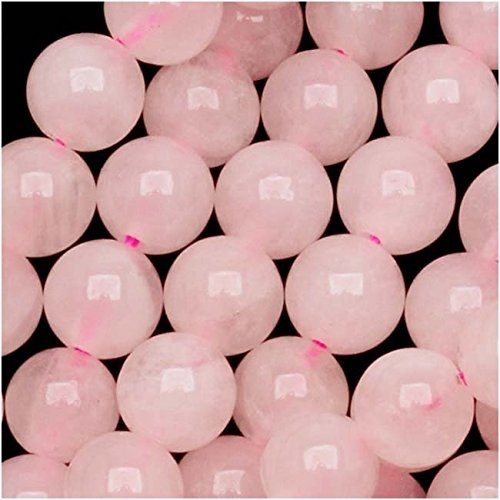rose quartz healing beads