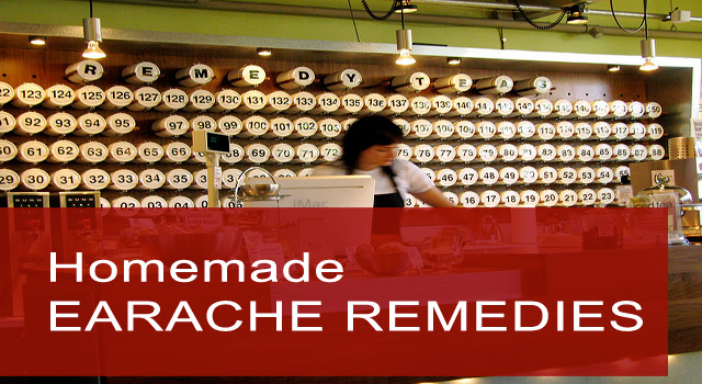 homemade remedies for earache?