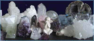 crystals and minerals, semi-precious stones
