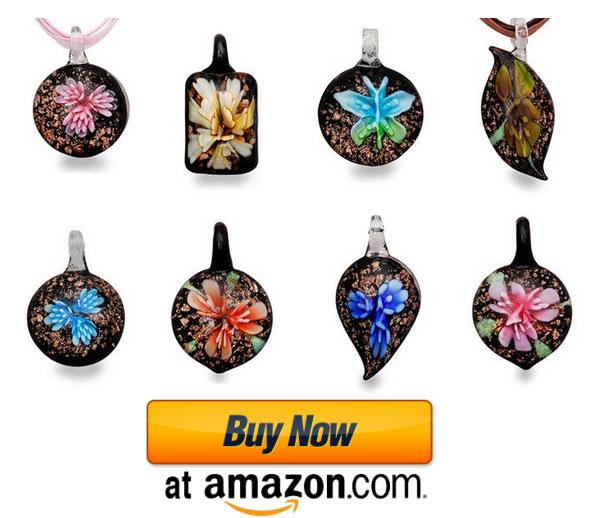 murano glass jewelry from amazon.com