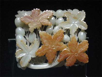 nephrite jade museum piece