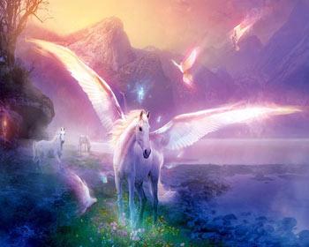 pegaz - prelepi krilati konj