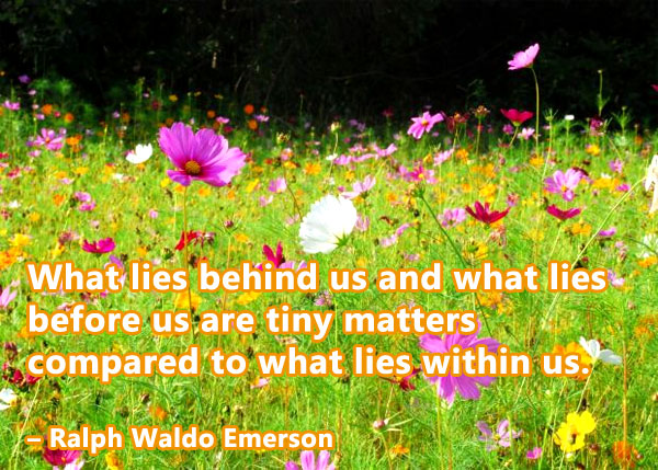 quote about spirituality by Emerson