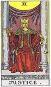 justice tarot