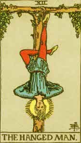 The Hanged Man - Major Arcana Number 12