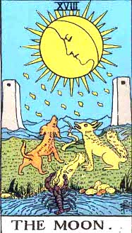 The Moon Tarot Card: Meanings and Symbolism | Tarot Articles