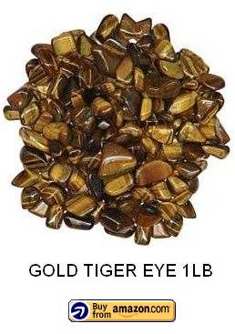 gold tigers eye stones