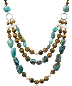 Buying tigers eye stones and jewelry online sunnyray reviews the necklace will be slightly higher than one would expect it but not overly so however the beauty color and texture of the stones is unsurpassed mozeypictures Images